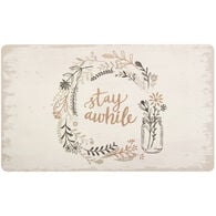 "Mohawk Stay Awhile Doormat, 18"" x 30"""