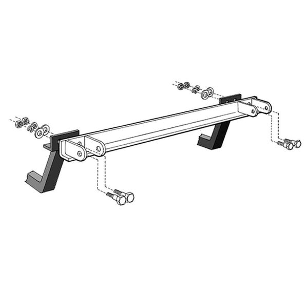 Reese and Valley Tow Bar Adapter Brackets