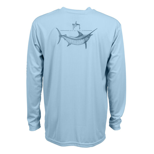 Guy Harvey Men's Sketch Pro UVX Performance Shirt
