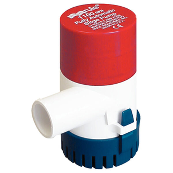 Rule Round Automatic Bilge Pump, 1,100 GPH