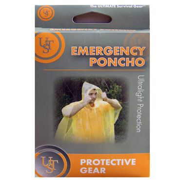 Ultimate Survival Emergency Poncho