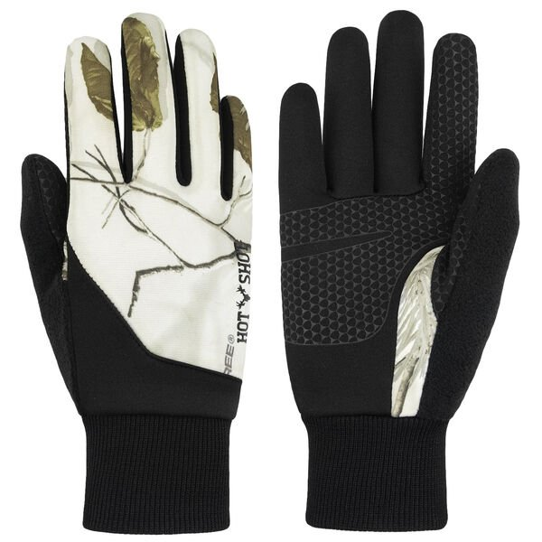 Hot Shot Women's Touch Glove, Realtree AP Snow Camo