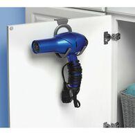 Over-the-Cabinet Door Hair Dryer Hook