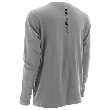 Huk Men's Long-Sleeve Logo Tee
