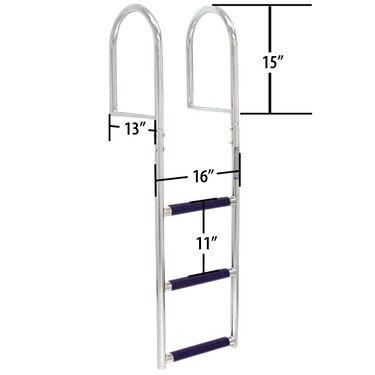 Dockmate Stainless Steel 4-Step Dock Ladder