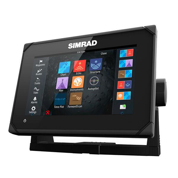 Simrad GO7 XSE Chartplotter Combo with Navionics+ Chart