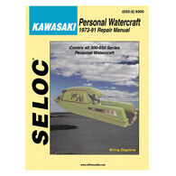 Seloc PWC Engine Maintenance And Repair Manual Kawasaki '73-'91 300-650 Series