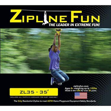 Adventure Parks Zipline 35, Yellow