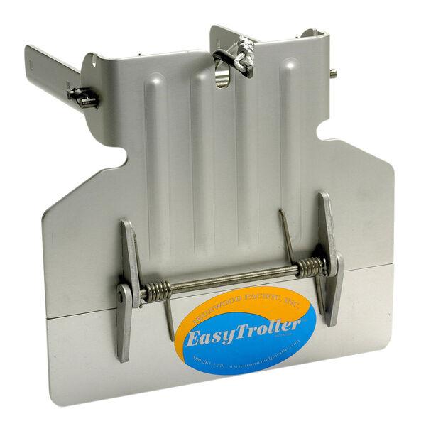 EasyTroller Hinged Metal Trolling Plate, Short Plate without Fins