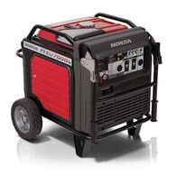 Honda EU7000iAT1 7,000 Watt Super Quiet Portable Inverter Generator with Electric Start