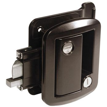 Global Classic Pro Trailer Lock, Black