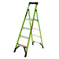 6' Mightylite Fiberglass Ladder, Type IAA 375lbs