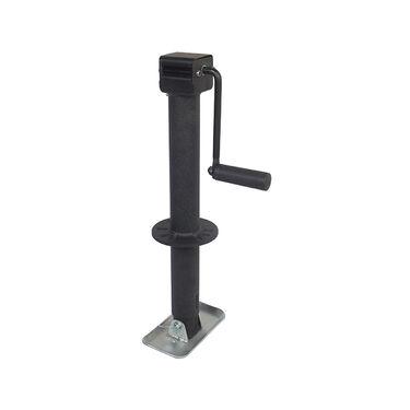Trailer Valet Blackout Series 5,000 lbs Side Wind A-Frame Center Mount Jack