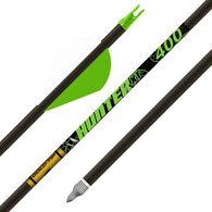 "Gold Tip Hunter XT Arrows with 2"" Raptor Vanes, 300, 6-Pack"
