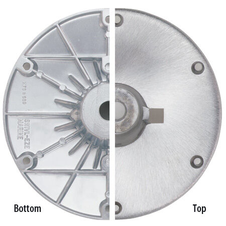 13-19 Swivl-Eze Wedge 2-3//8 Adjustable Power Pedestal with Seat Mount