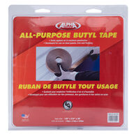 "Alpha Systems All-Purpose Butyl Tape, 1/8"" x 3/4"" x 35'"
