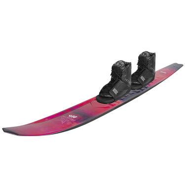 HO Women's Freeride EVO Slalom Waterski With Double Free-Max Bindings