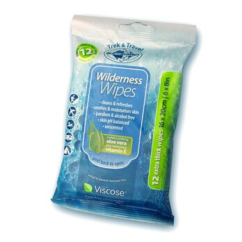 Sea to Summit Extra-Large Wilderness Wipes, 8-Pack