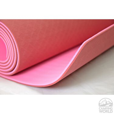 TPE Exercise and Yoga Mat, Pink