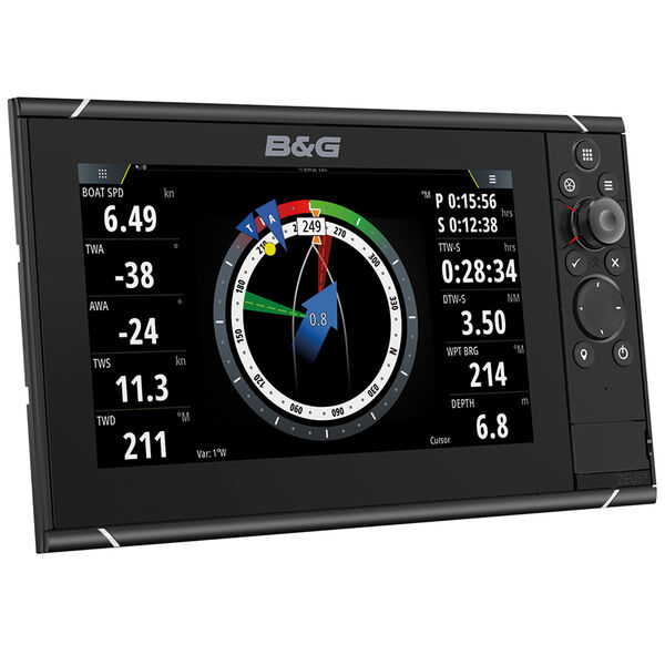 "B&G Zeus 3 9"" Multifunction Display With Insight Charts"