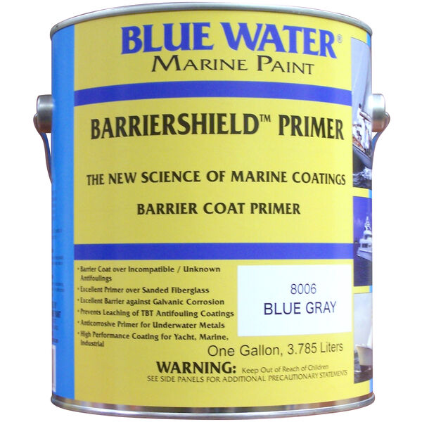Blue Water Barriershield Primer, Gallon