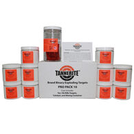 Tannerite Exploding Rifle Targets, Pro Pack 10, 10 1-lb. Targets