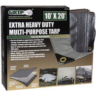 Grip On Tools Heavy Duty Multi-Purpose Tarp, 10' x 20'
