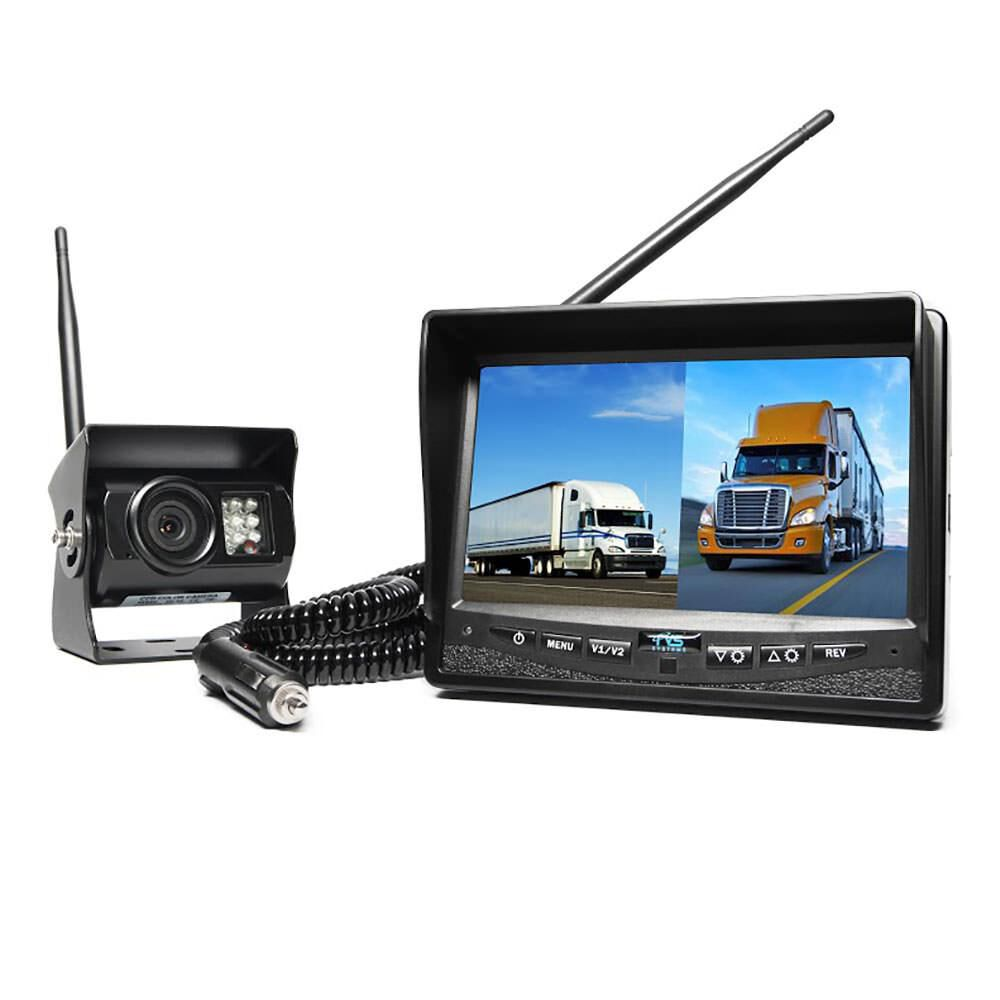 Rear View Safety Wireless Backup Camera Amp Dual Screen