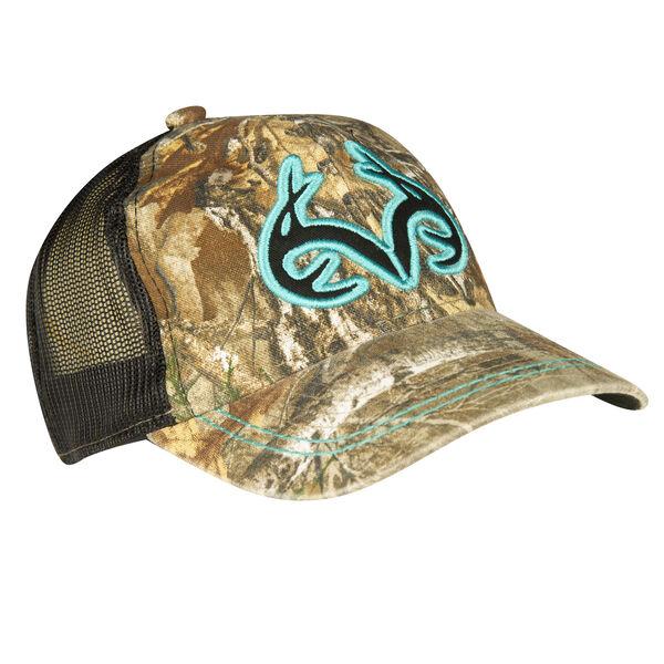 Realtree Women's 3-D Logo Mesh-Back Hat