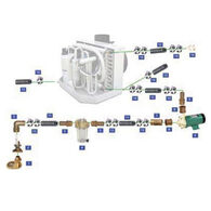 Webasto 230V Seawater Kit For 12,000 / 16,000 BTU Units