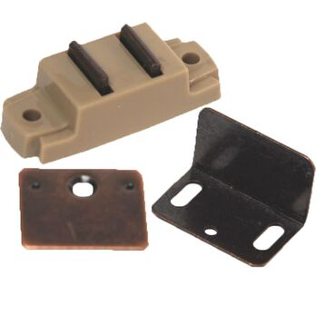 Magnetic Catch with Flat and Right Angle Plates