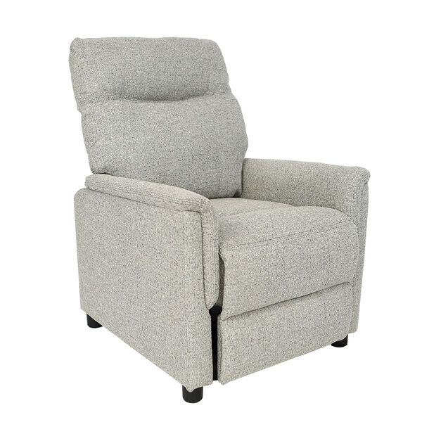 Kathy Ireland Furniture Push-Back Recliner, Stone