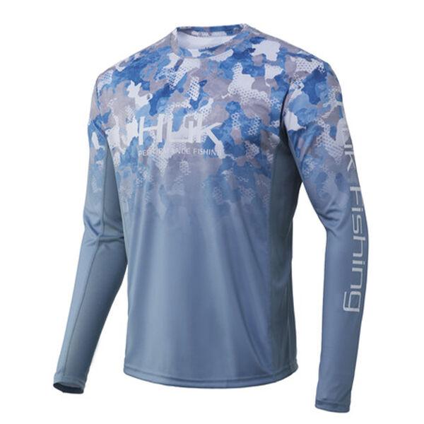 HUK ICON X Refraction Camo Fade Shirt