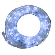 Flipo White 100-LED Solar Rope Lighting, 33'