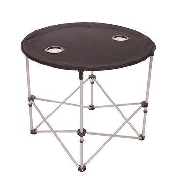 Round Folding Table, Black