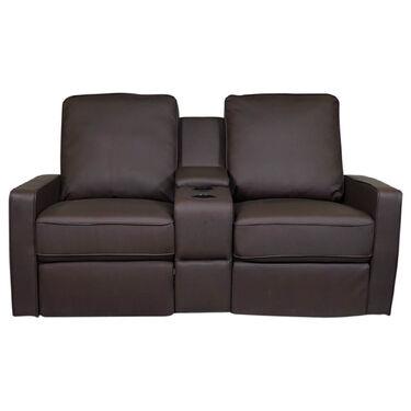 Allure Furniture Dual Recliner Theater Seat, Carver
