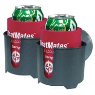 BoatMates Drink Holder Twin Pack, Grey