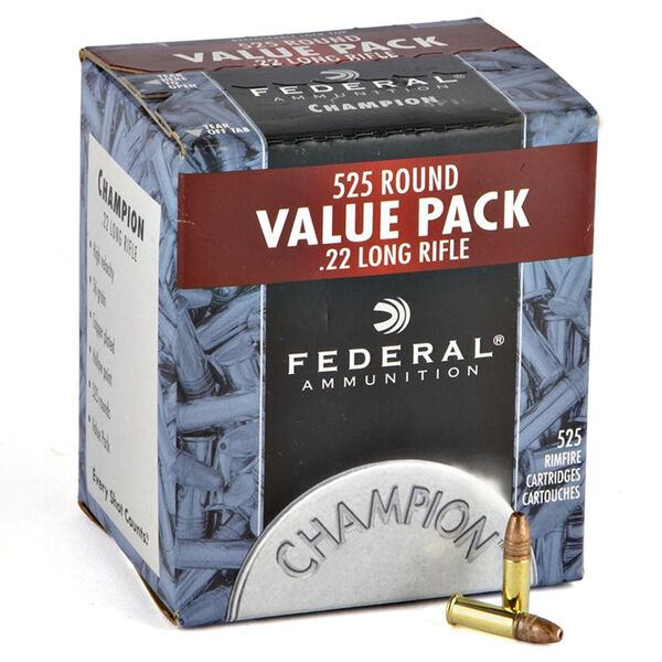 Federal Premium Champion Ammunition Value Pack