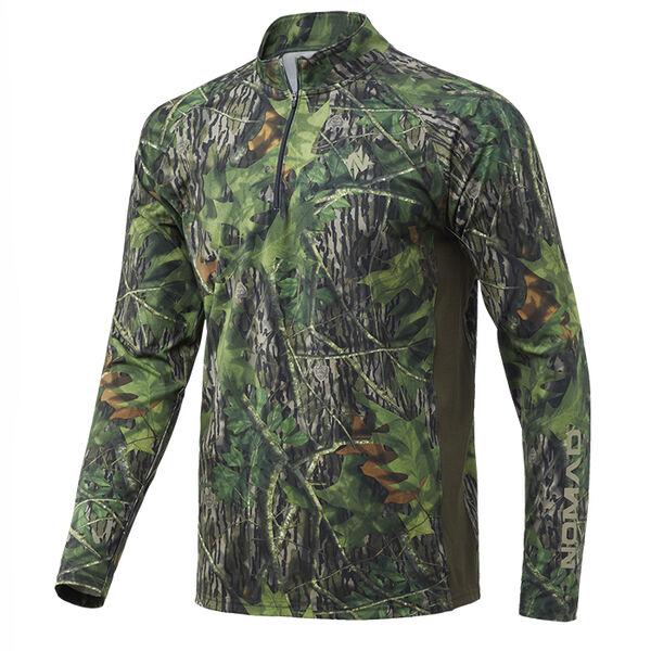 Nomad Pursuit Camo 1/4 Zip Shirt