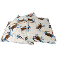 Crabs Haute Pads Multi-Purpose Kitchen/Grill Towel and Pot Holder, Set of 4