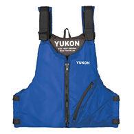 Yukon Base Adult Paddle Life Vest - Blue - Oversized