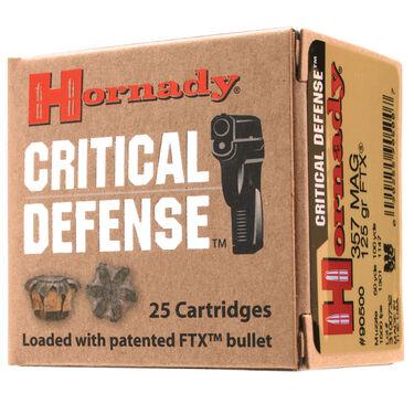 Hornady Critical Defense Handgun Ammo, .380 ACP, 90-gr., FTX, 25 Rounds