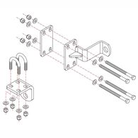 Roadmaster Reflex Steering Stabilizer Mounting Bracket, RBK17