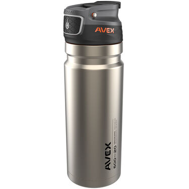 Avex Recharge AutoSeal Stainless Steel Thermal Bottle, 20 oz.