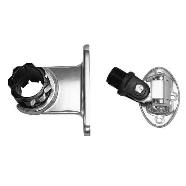 Rupp Standard Antenna Mount With 4-Way Base