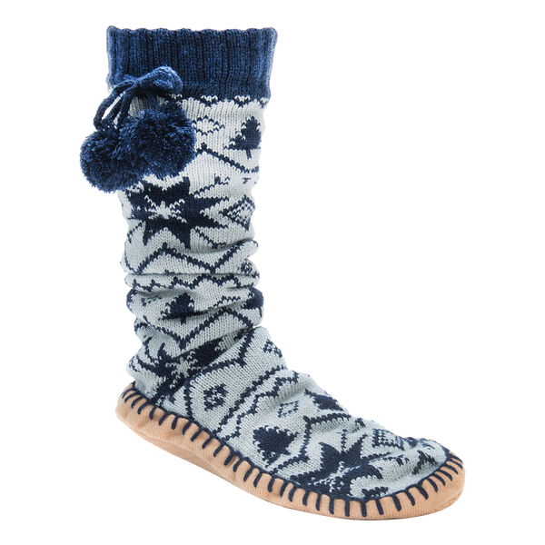 Muk Luks Women's Slipper Socks, Galaxy