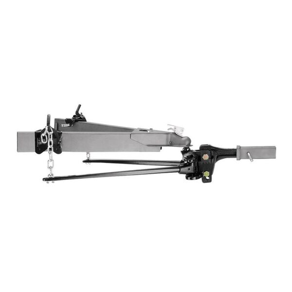 Pro Series Trunnion Weight Distribution Hitch, 600 lb. tongue weight/ 10,000 lb. trailer weight