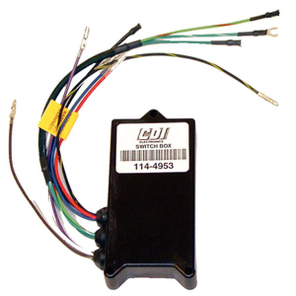 CDI Mercury Switch Box, Replaces 18495A10/12/18/19/26