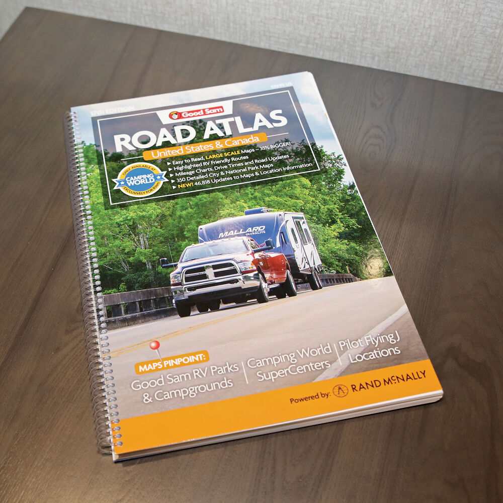 Good Sam Road Atlas, 17th Edition