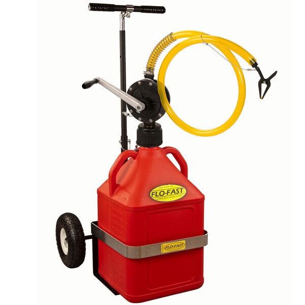 Flo-Fast Portable 15-Gallon Gasoline Transfer System